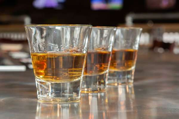 Bourbon Shots