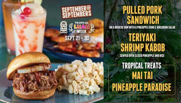 September at Septembers - Tropical Luau Week