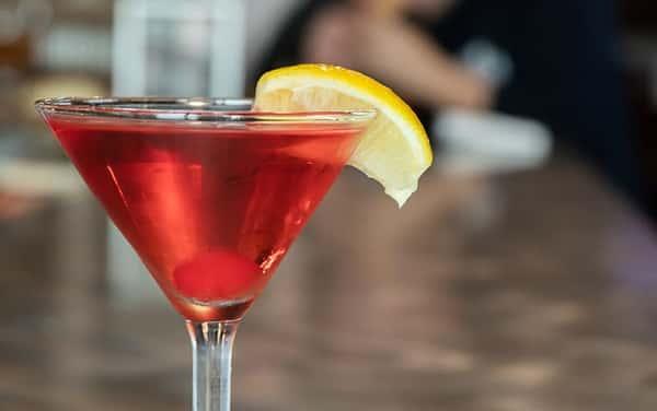 Lemon-Berry Martini