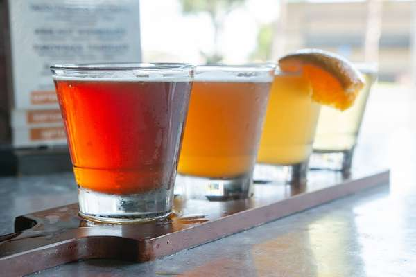 Beer Sampler Paddle (Managers Choice)