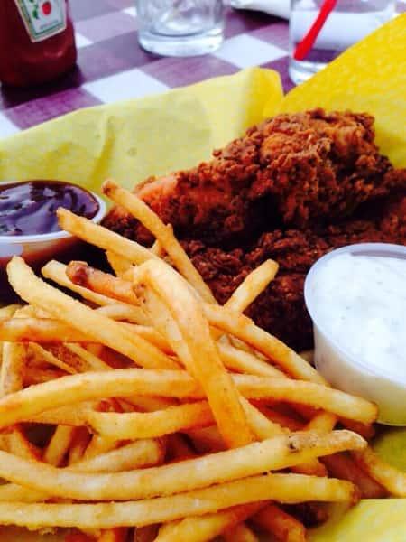 Chicken Tenders & Skinny Fries