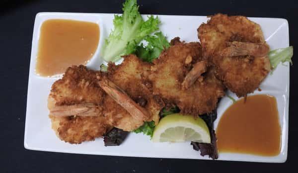 Coco Mac Shrimp Appetizer