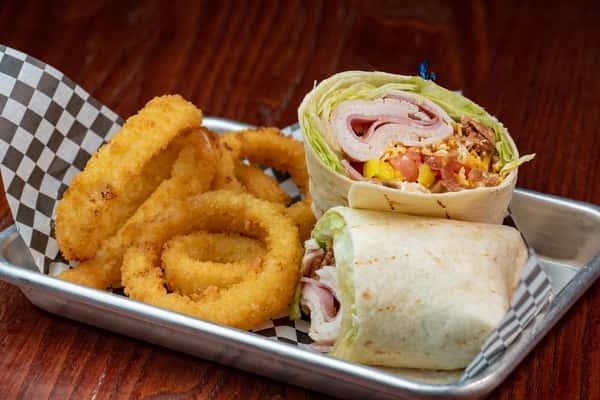Turkey Bacon Club Wrap
