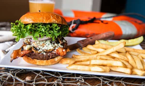 The Blue Burger