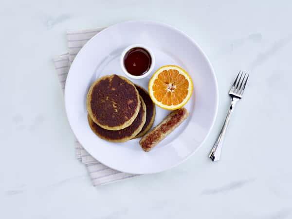 three pancakes