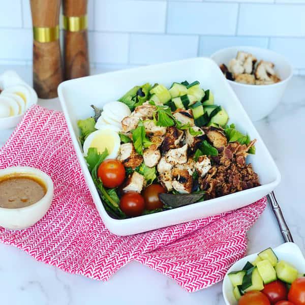 BBQ Chopped Chicken Cobb Salad