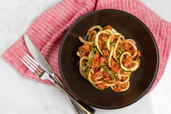zucchini bolognese