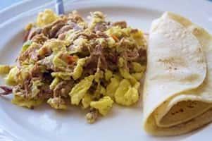 Machaca Breakfast