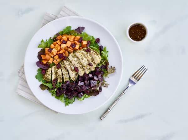 rustic fall salad
