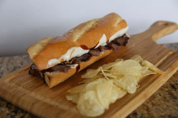 BBQ ROAST BEEF SANDWICH
