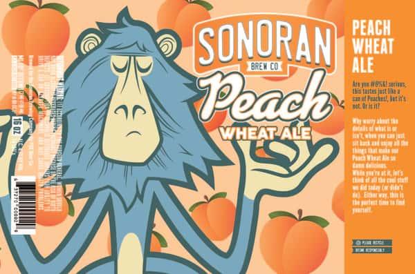 Sonoran Peach Wheat Ale