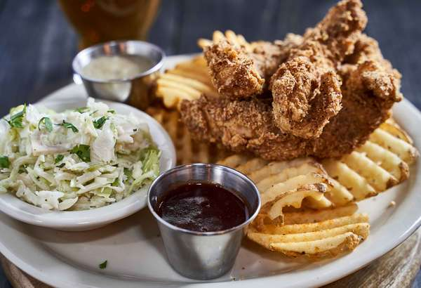 Southern Fried Chicken Entree
