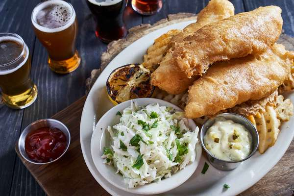 Alaskan Cod and Chips