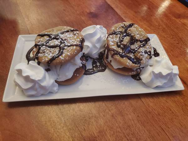Chocolate-chip Cookie Ice-Cream Sandwiches
