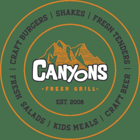Canyons Fresh Grill circular logo