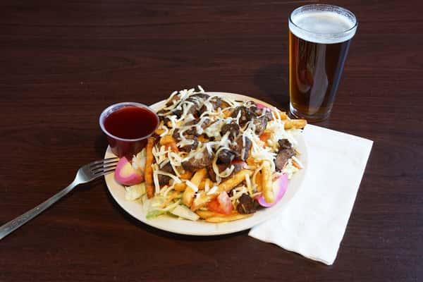 Black Gold Steak Salad