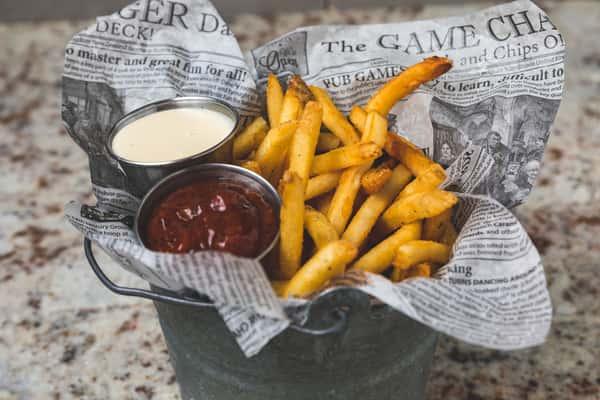 Fry Bucket & Cheese