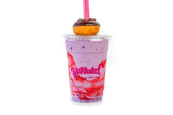 Berry Bliss SMASH Milkshake