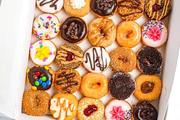 25 Mini Donuts