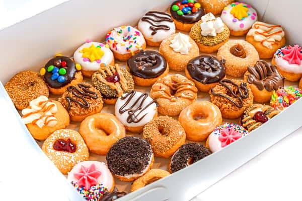 35 Mini Donuts