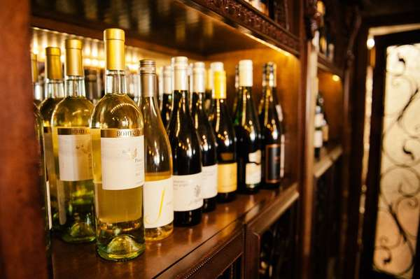 group of wine