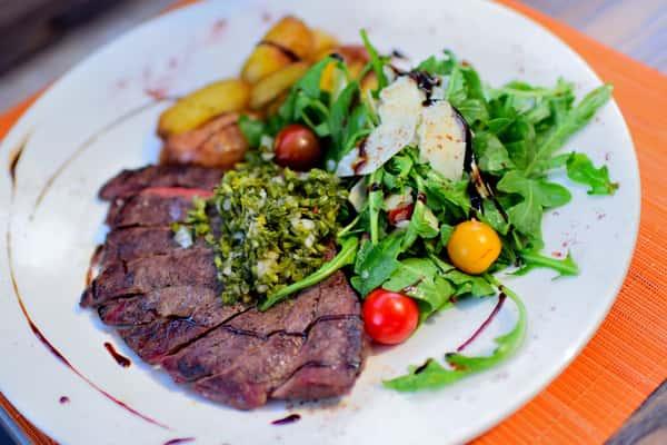 Hanger Steak Tagliata