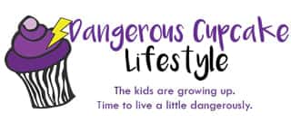 dangerous cupcake lifestyle logo