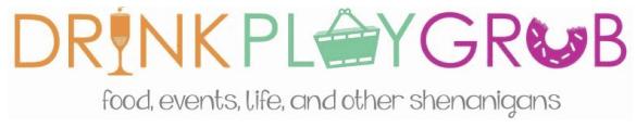 Drink, Play, Grab Logo