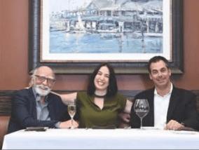 John, Karyn, and Marc Ghoukassian