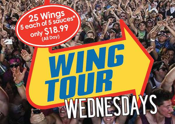 Wing Tour Wednesday