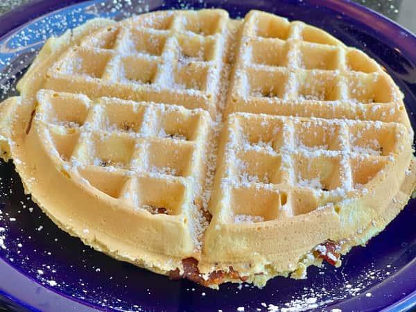 Big Bacon Waffle