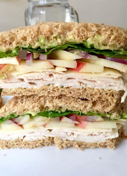 Turkey Apple Cheddar