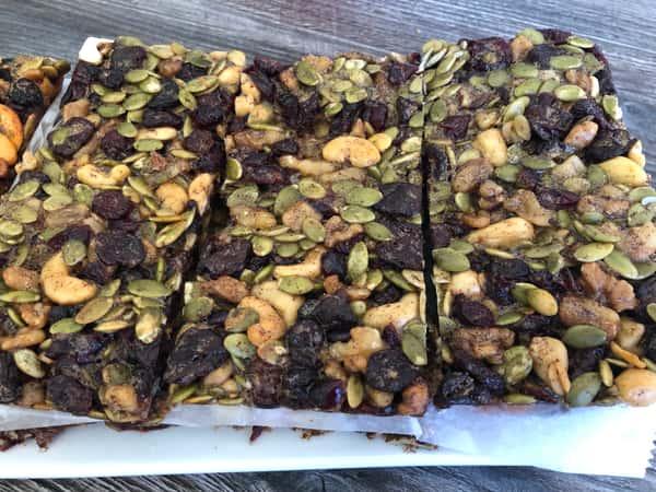 Gluten Free Nut Bar