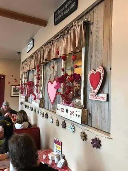 valentine's day wall