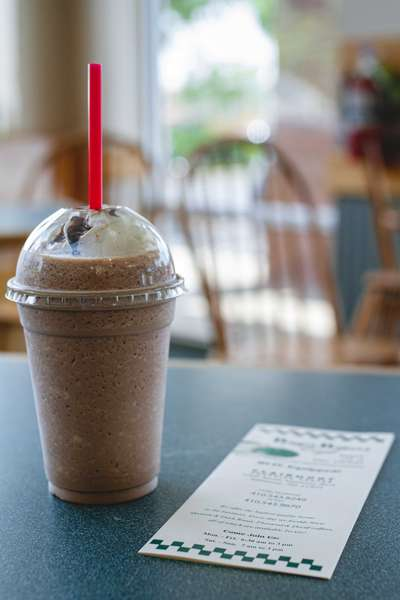 Blended Iced Coffee -Caramel, Mocha and Vanilla