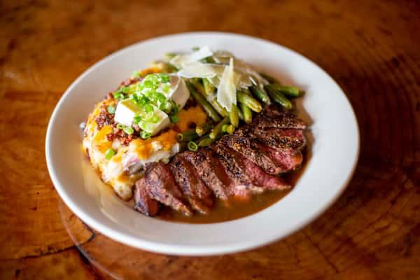 flat iron steak