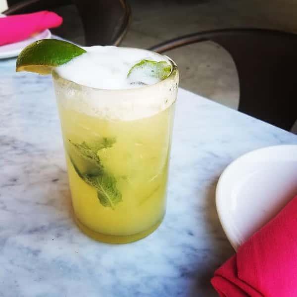 Cucumber Mint Margarita