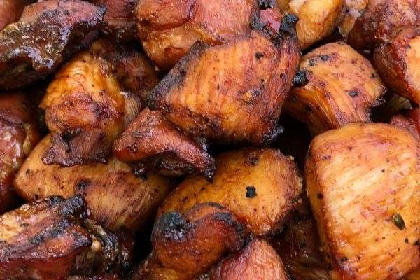 Grilled Turkey Tips