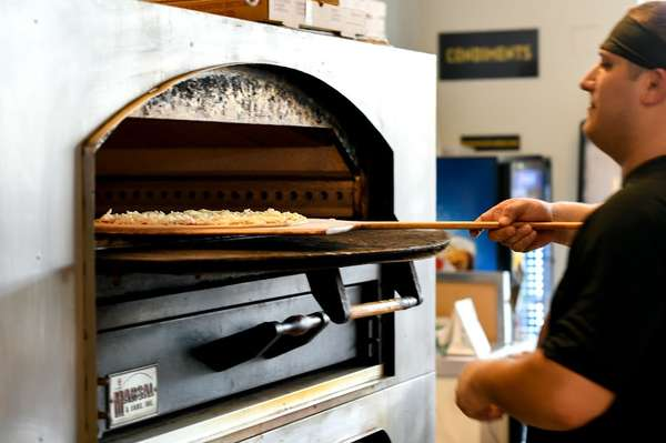 Hand crafted pizzas