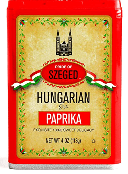 Sweet Paprika Hungarian Style