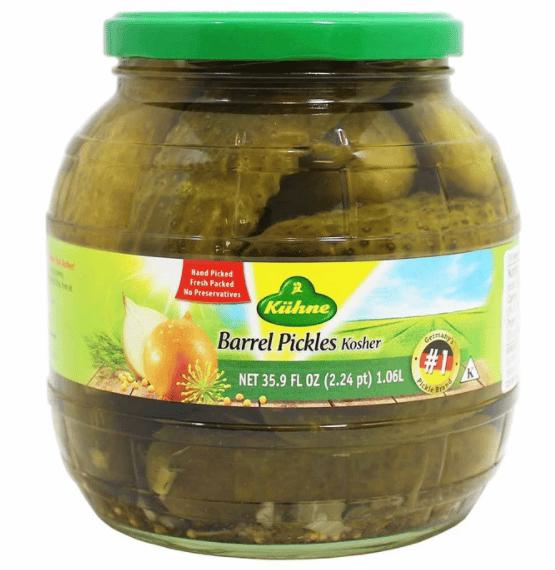 Kuhne Kosher Barrel Pickles