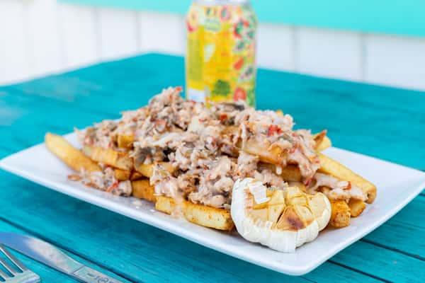 blue crab fries