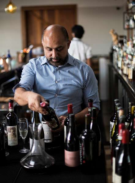 choosing wines