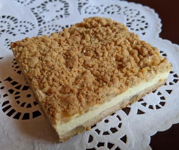 Lemon Cheesecake Square