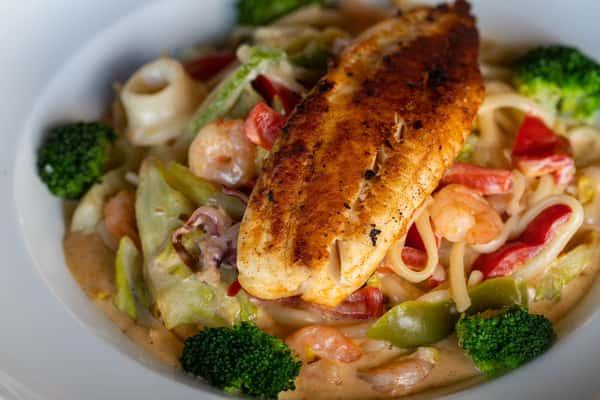 Creamy Seafood Noodles