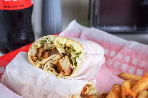 Chicken Gyro Wrap