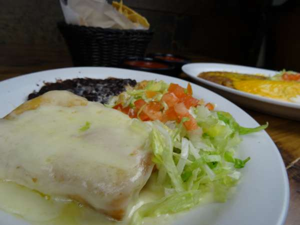 #8 Chimichanga- Beef or Chicken