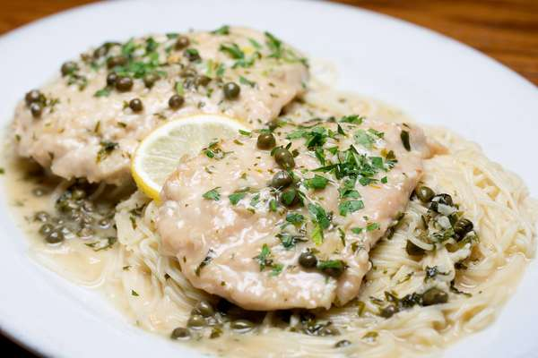 Veal or Chicken Piccatta