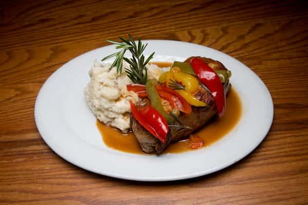 Nana's Pork Chops with Vinegar Peppers