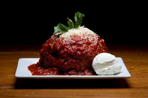 Stuffed Meatball Florentine